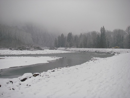 Chilliwack River in Winter