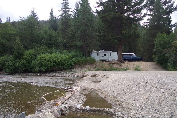 Coldwater River campsite